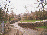 Butterton village